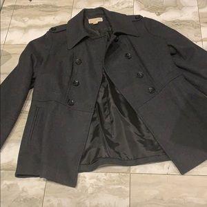 MICHAEL KORS WOOL PEA COAT - size XL women's
